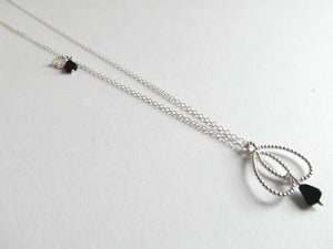Image of Pearl Collection - Onyx Pendant