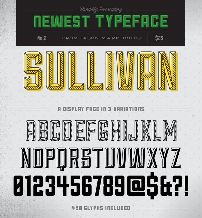 Image of Sullivan Font Family