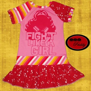 Image of **SOLD OUT** Fight Like a Girl Dress – Size 7/8