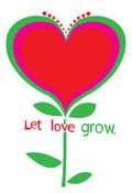 Image of Let Love Grow Art Print - New!