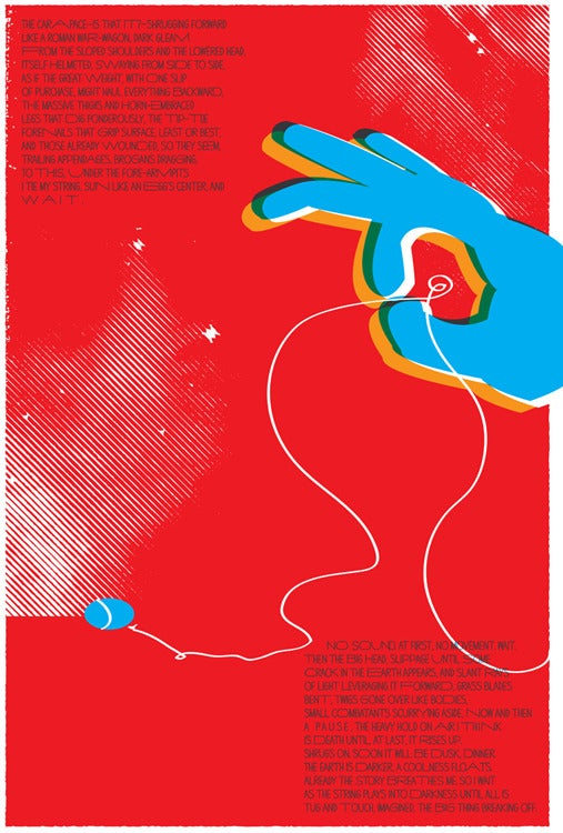 Image of June Bug Art Print