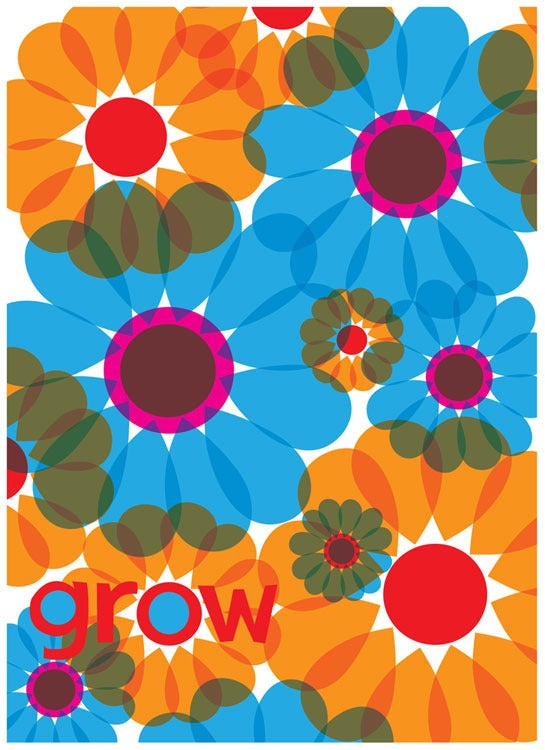 Image of Grow Flowers Art Print