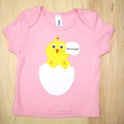 Image of Howdy Chick Pink Infant & Baby tee
