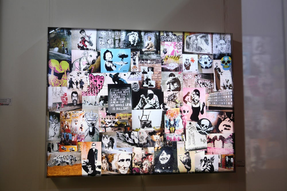 Image of Banksy Cans Festival Lightbox by Mimik