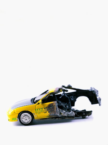 """Image of """"Racing Collision at 90+ mph,"""" 2010"""