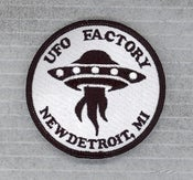 "Image of SOLD OUT - UFO FACTORY PATCH ""OFFICIAL"" sold-out!"