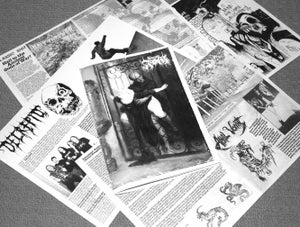 Image of Funeral Fog Hell Zine Issue 2.