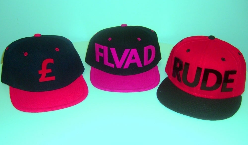 Image of Customized Snap backs in 14 Colours