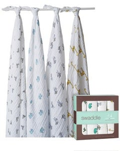 Image of SALE - Unisex Muslin Swaddling 4 pack