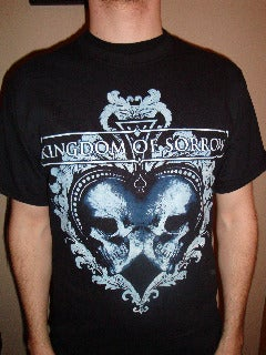"Image of Kingdom Of Sorrow ""Buried In Black"" short sleeve t-shirt"