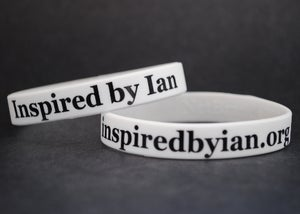 Image of 'Inspired by Ian' Wristband