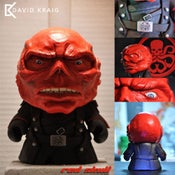 "Image of Red Skull 7"" Kidrobot Munny"