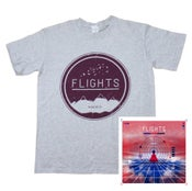 Image of Mountain Tee + CD Bundle
