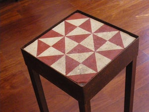 Image of Red triangles plant stand