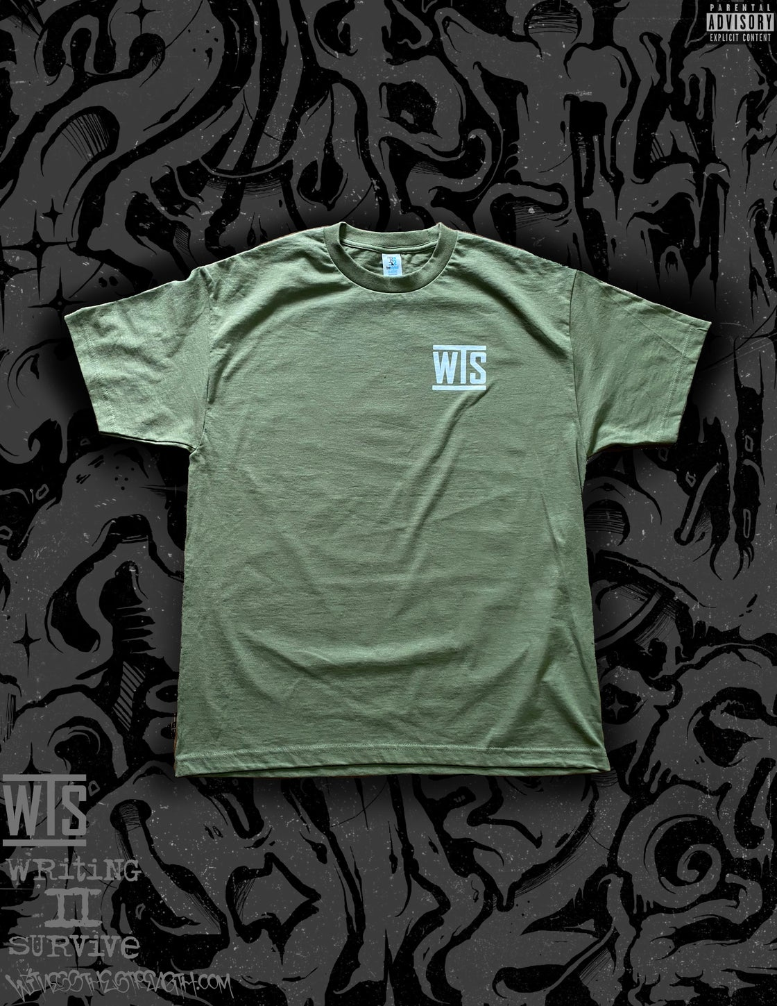 Image of WORTH THE STRUGGLE (MILITARY GREEN)