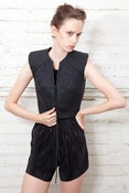 Image of no. 303 waxed cotton vest