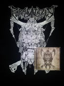 Image of CD, shirt and logo sticker combo deal
