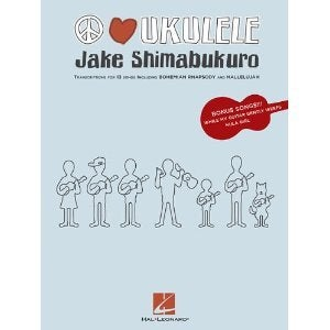 Image of JAKE SHIMABUKURO - PEACE LOVE UKULELE