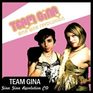 "Image of Team Gina ""Gina Gina Revolution"" CD DSBR005"