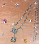 Image 2 of angel number necklaces (silver and gold)