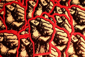 Image of 5 Stickers - Frank Cieciorka Fist
