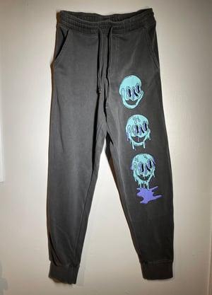 Image of Melting Sweatpants  (Black)