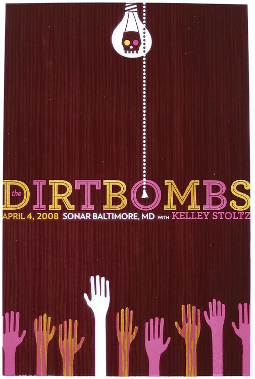 Image of The Dirtbombs Rock Poster