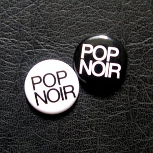 Image of Pop Noir - Pin Set