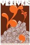 Image of Vetiver Sasquatch Festival Rock Gig Poster