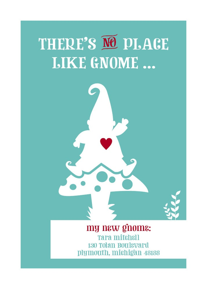 There's no place like gnome (New Address/Home)