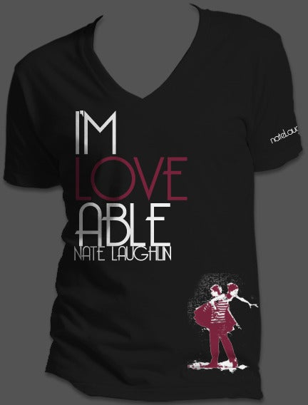 Image of Lovable Black V-Neck