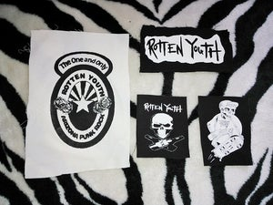 Image of ROTTEN YOUTH VARIOUS PATCHES