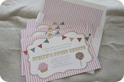 Image of Sweet Shoppe Invitation PDF