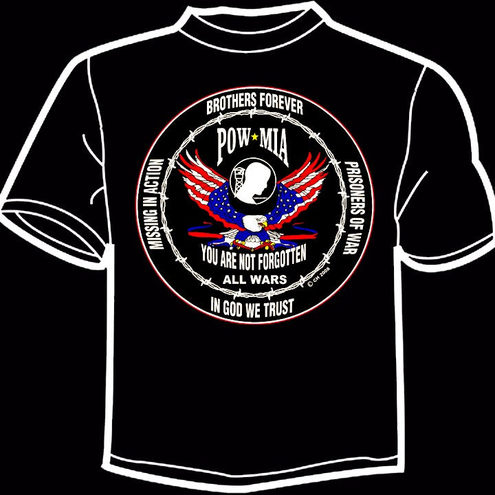 Image of All Wars POW MIA T-Shirt