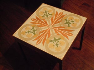 Image of Tongues of fire end table