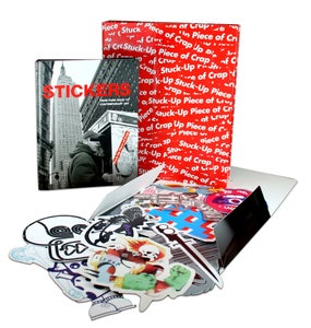 Image of Stickers Deluxe: From Punk Rock to Contemporary Art AKA Stuck-Up Piece of Crap