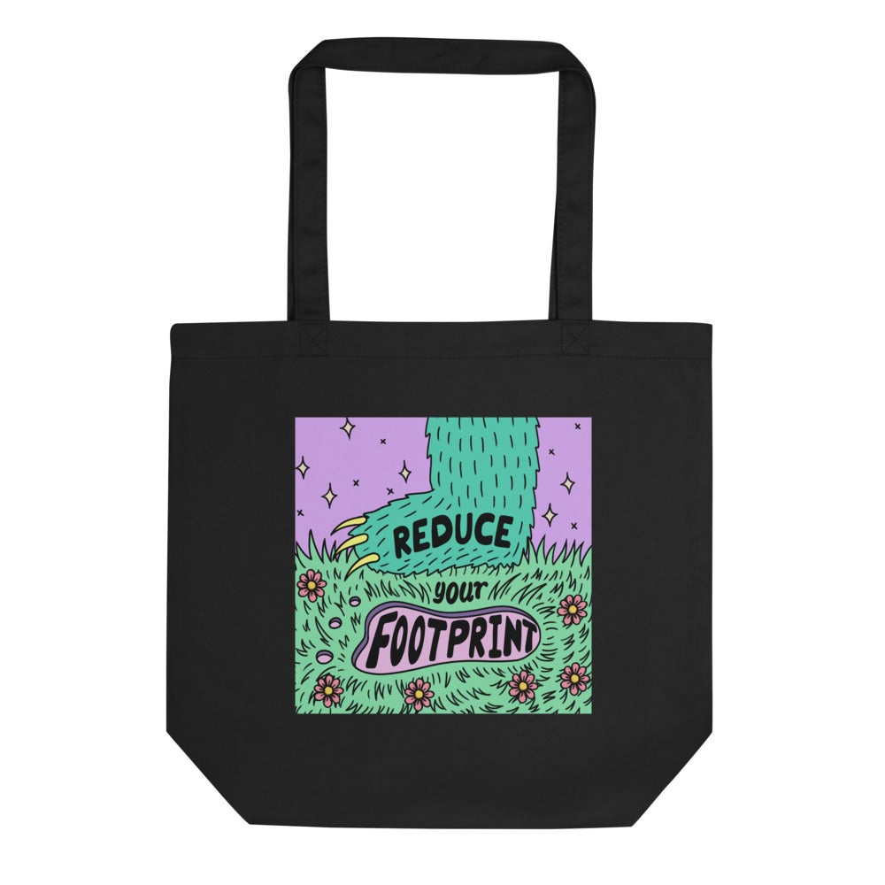 Reduce Your Footprint Tote