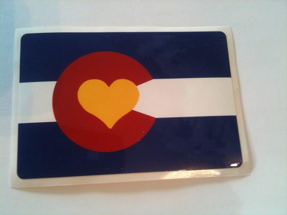 Image of Colorado Love Sticker
