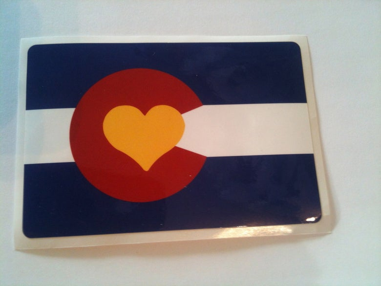 Image of Colorado Love Sticker