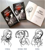 "Image of Signed Graphic Novel ""Black is for Beginnings"""