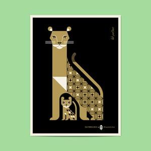 Image of California Gold No.4 - Mountain Lion