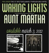 "Image of Pre-Order Waking Lights/Aunt Martha 12"" Split"