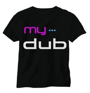 Image of My Dub Men's T-Shirt (Black)