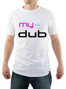 Image of My Dub Men's T-Shirt (White)