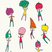 Image of Veg Heads Print