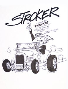 Image of Limited Edition Large Pellon Stroker Poster