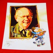"""Image of Limited Edition Tom Fritz """"Stroker"""" Painted Poster"""