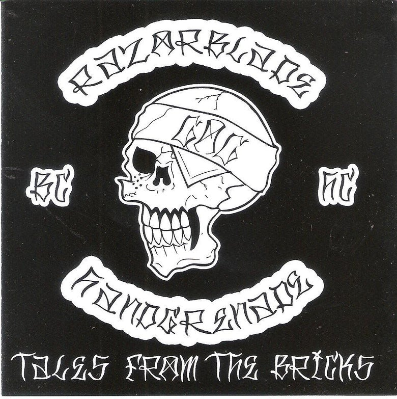 Image of RAZORBLADE HANDGRENADE -TALES FROM THE BRICKS CD