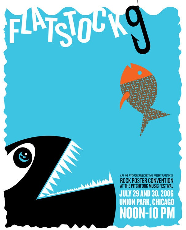 Image of Flatstock 9, Chicago Poster