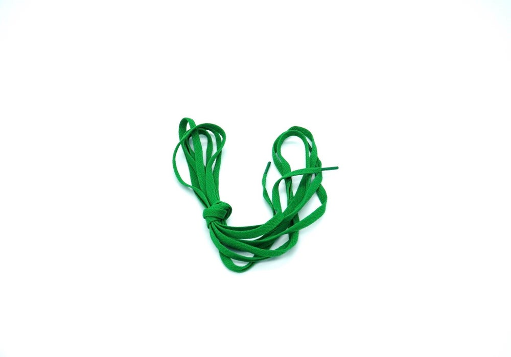 Image of Green Flat Laces